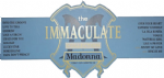 THE IMMACULATE COLLECTION - UK PROMO SHOP DISPLAY BANNER